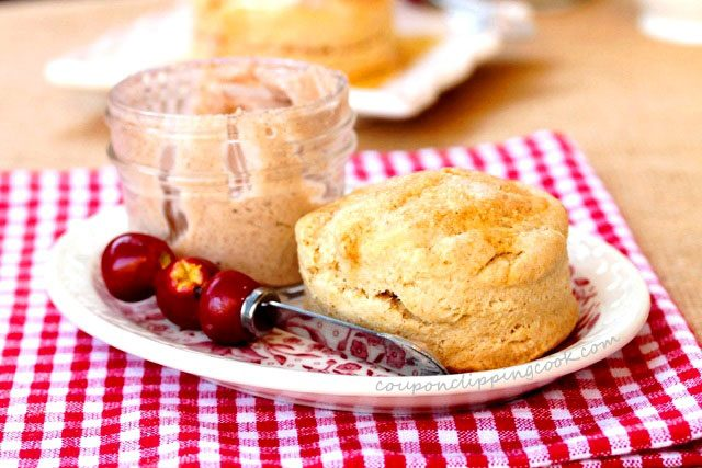 Wheat Biscuit and Apple Butter