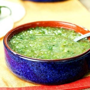 Green Salsa in Bowl