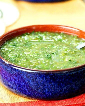 Salsa Verde {Green Salsa}