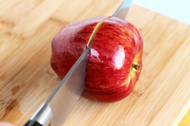 Cut Apple in Half
