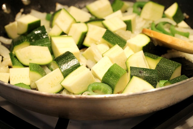 Cook Zucchini in Pan