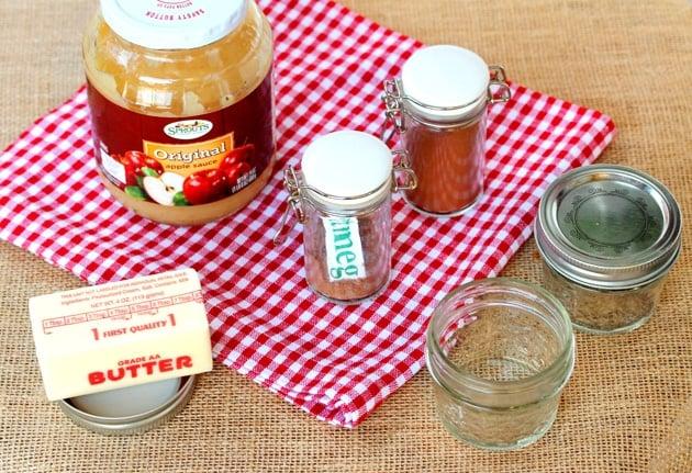 Apple Cinnamon Butter Ingredients