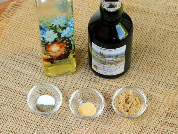 Balsamic Vinaigrette Ingredients