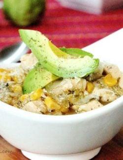 Salsa Verde Chicken with Rice