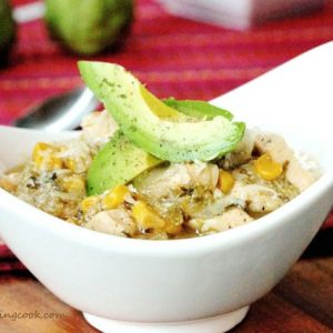 Salsa Verde Chicken with Rice