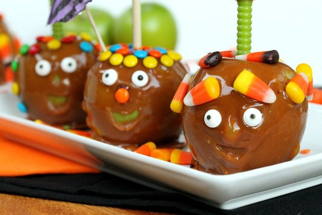 Funny Face Caramel Apples Coupon Clipping Cook