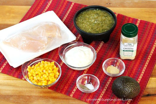 Salsa Chicken Ingredients