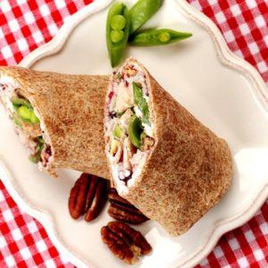 Turkey Pecan Cranberry Wrap