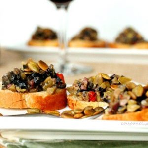Olive Tapenade Croutons
