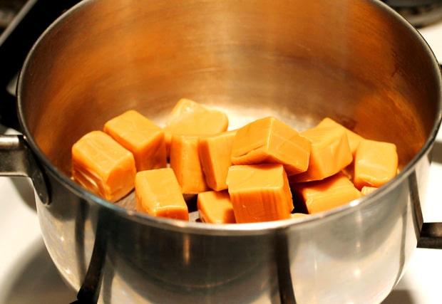 Caramels in Pan