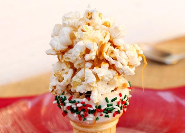 Caramel Popcorn Cone