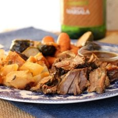 Marsala Pot Roast Dinner