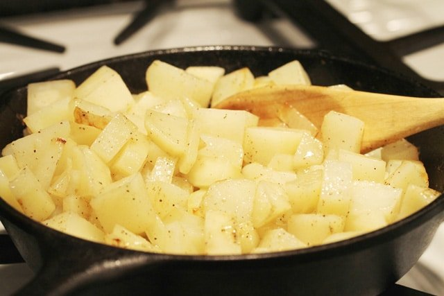 Cooking Fried Potatoes