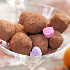 13 Coffee and Orange Chocolate Truffles