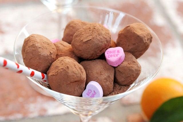 13 Coffee and Orange Chocolate Truffles