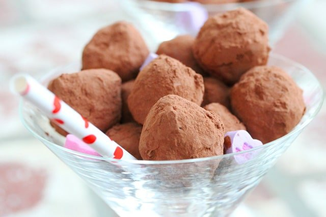 3 Coffee and Orange Chocolate Truffles