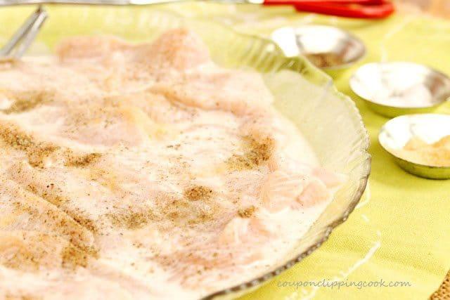 Chicken in Coconut Marinade
