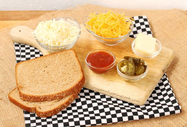 Jalapeno Grilled Cheese Ingredients