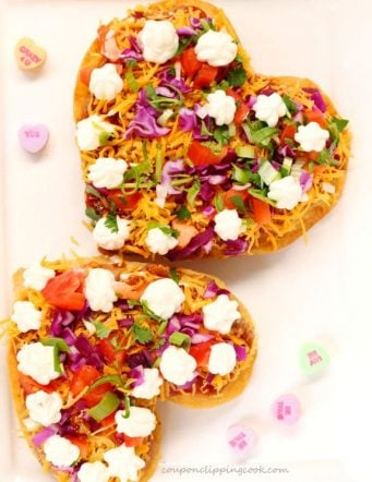 Heart-Shaped Tostadas