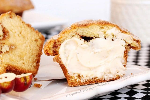Butter on Sour Cream Muffin