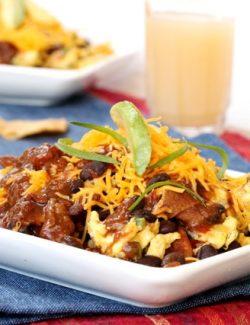 Breakfast Chili Chilaquiles