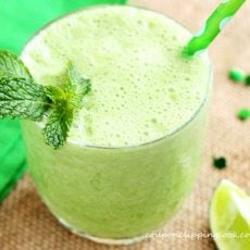Apple Mint Limeade Smoothie