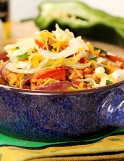 Spicy Chicken and Rice Bowl