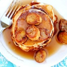 Double Banana Pancakes