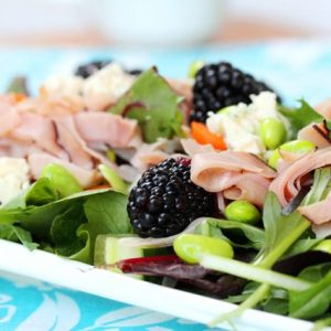 Blackberry Ham Salad