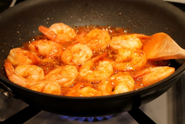 Stir and cook for about another 2 minutes (or until the shrimp is ...