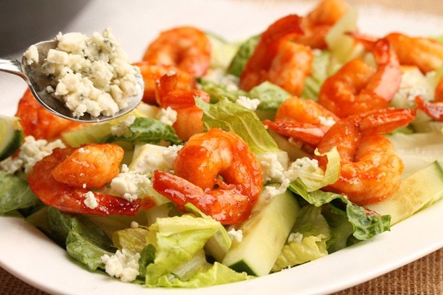 Warm Shrimp And Blue Cheese Pasta Salad Recipes — Dishmaps