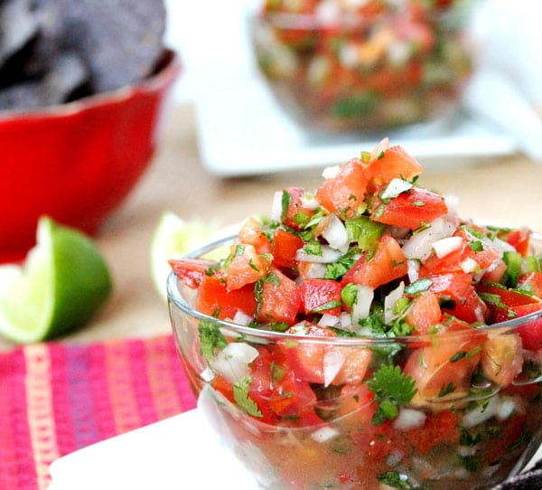 Pico de Gallo is one of those things that when all ingredients are ...