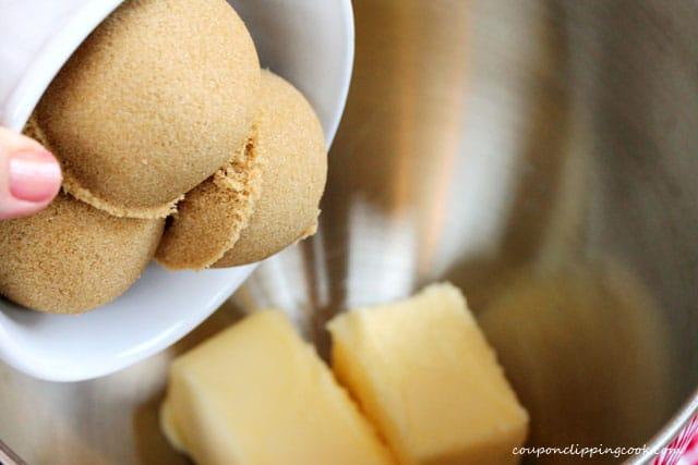 Add brown sugar in bowl