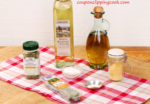 Tarragon Balsamic Dressing ingredients