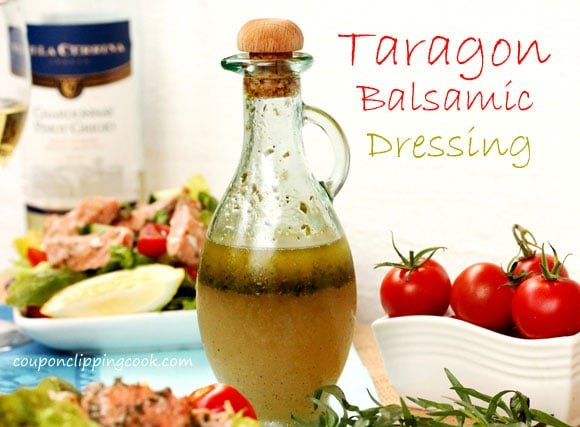Tarragon Balsamic Dressing in jar