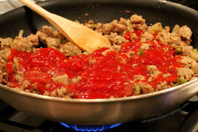 Ketchup in Ground Turkey