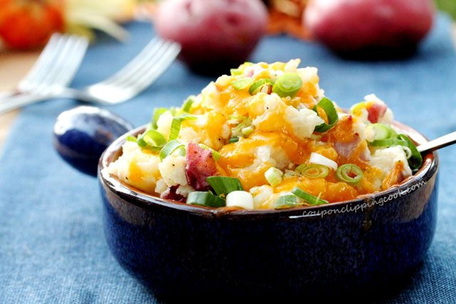 Cheesy Red Potato Mash