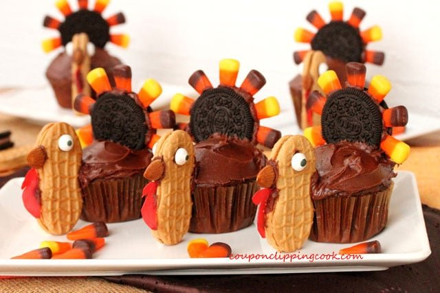 22-Thanksgiving-Turkey-Cupcakes