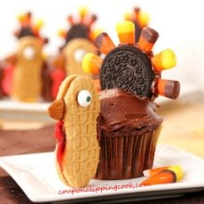 Thanksgiving Turkey Cupcake