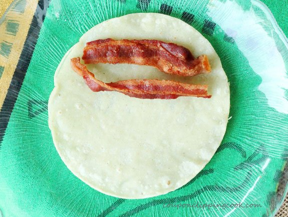 21-add-bacon-to-corn-tortilla