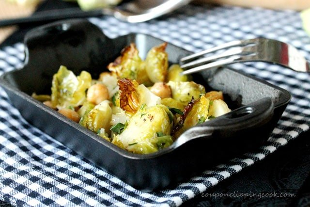 Brussels Sprouts with Olive Oil and Garlic | Coupon Clipping Cook