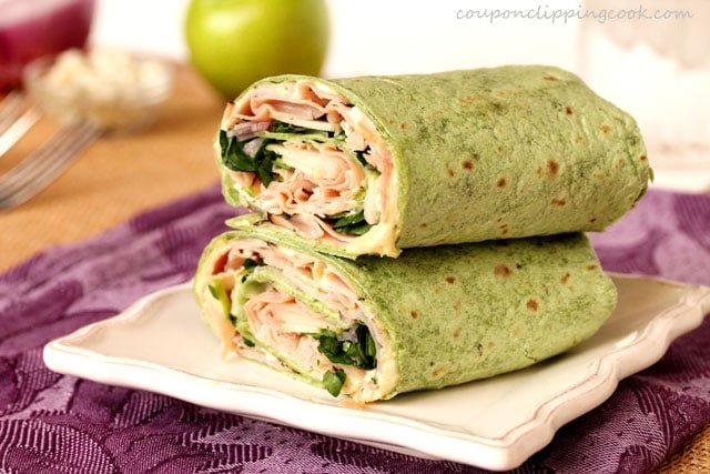 6-Ham-apple-and-blue-cheese-wrap