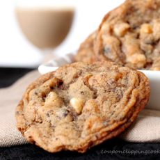 Baileys Coffee White Chocolate Cookie
