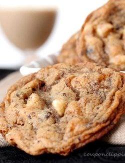 Baileys Coffee White Chocolate Cookie
