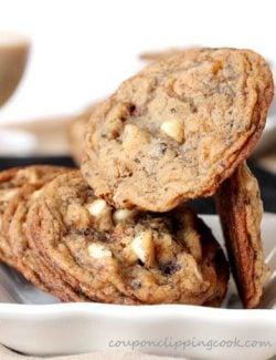 Baileys Coffee White Chocolate Cookies