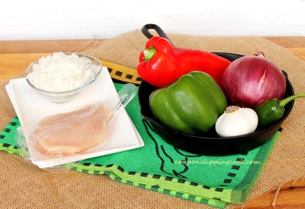 Fajita-ingredients
