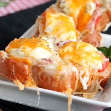 Garlic and Tomato Cheese Bread