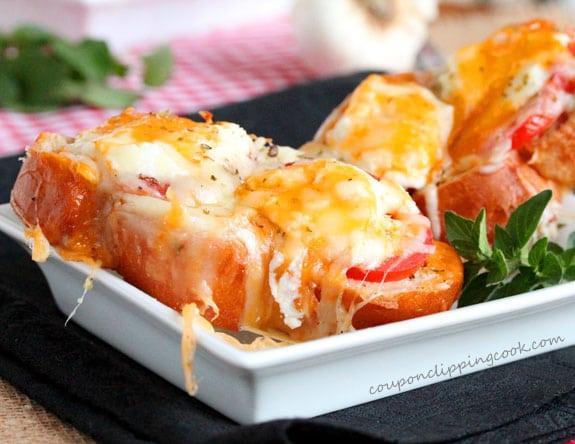 Roasted Garlic Cheese Bread