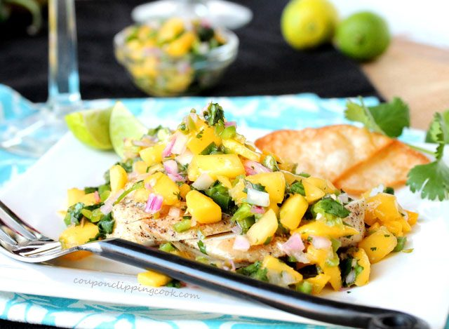 Grilled Chicken Mango Salsa