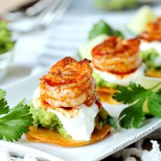 Mini Shrimp Tostadas